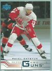 Pavel Datsyuk Cards, Rookie Cards and Autographed Memorabilia Guide 33