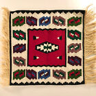 2 Vintage Boho Chic Woven Wall Hangings Tapestry Rug Kilim Boho Native American