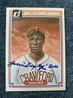SIGNED James Cool Papa Bell Autographed 1983 Donruss HOF Heroes Card