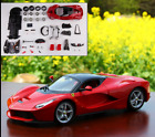 Maisto 124 Ferrari Laferrari Red Assembly DIY Racing Car Diecast MODEL KITS