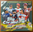 2018 Topps Chrome Update Baseball Sealed Mega Box 7 Packs 28 Cards - TCCCX