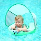 Baby Infant Solid Non inflatable Lying Swimming Ring Waist Float Pool Toys Swim