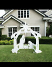 Holy Night Outdoor Nativity Set a D10
