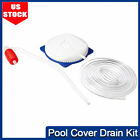 Swimming Pool Cover Drain Pump with 13 Foot Hose