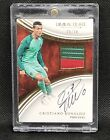 🔥 2017 IMMACULATE SOCCER Patch Autograph Cristiano Ronaldo Portugal 20 20 🔥