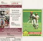 Lou Brock Cards, Rookie Card and Autographed Memorabilia Guide 39