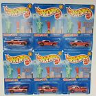 Lot of 6 2000 Hot Wheels Otter Pops 67 Camaro Special Edition Real Riders MONMC