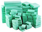 Teal Blue Cotton Filled Jewelry Boxes Lots of 25 50 100
