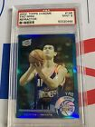 2002 Topps Chrome REFRACTOR Yao Ming PSA 9 Mint Rookie RC Rockets Low POP