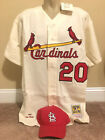 1967 Lou Brock St. Louis Cardinals Authentic Mitchell & Ness Jersey Size 52