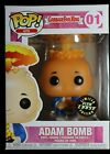 Funko Pop Garbage Pail Kids Adam Bomb #01 Limited Edition Glow Chase w Protector