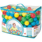 500 Kids Multicolor Plastic Color Balls Sand Pit Pool Party Boy Girl Game Toy Tv