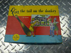 1950s vintage pin the tail on the donkey game