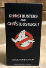 Vintage Ghostbusters & Ghostbusters II VHS Box Set Collector's Edition