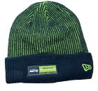 Seattle Seahawks New Era NFL Football Tech Sport Knit Cuffed Beanie Winter Hat