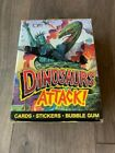 1988 Topps Dinosaurs Attack Trading Cards Wax Box 48 Sealed Packs NEW!!