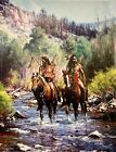 When Horses Leave No Tracks by Martin Grelle Native American Indians Western