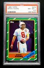 1986 Steve Young Rookie PSA 8.5 NM-MT+ Topps #374 'Stunning Card' Tampa Bay
