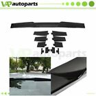 Maintain Traction Spoiler Wing Universal Fitment Top Roof Adjustable Black