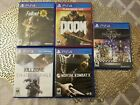 PS4 Video Games x5 Games Lot Collection Great Condition