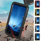 For Samsung Note20 A71 5G Metal Dustproof Shockproof Tempered Glass Case Cover
