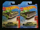 Hot Wheels Super Treasure Hunt 65 Ford Galaxie and Mainline Release
