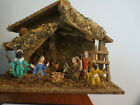 WONDERFUL VINTAGE NATIVITY CRECHE SCENE MADE IN ITALY