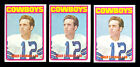 Top 20 Budget 1970s Football Hall of Fame Rookie Cards 37