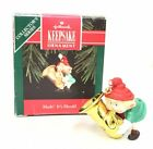 Vintage Hallmark Keepsake Christmas Ornament Hark! It's Herald 1992 AA04-33