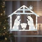 17 Lighted Nativity Outdoor Christmas Decoration For Yard Window Holiday Winter