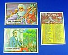 1962 Topps Civil War News Trading Cards 4