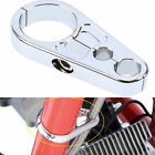 Motorcycle Handlebar Clutch Throttle Cable Brake Line Clamp for Harley Aluminum
