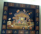 Kurt S Adler Magnetic Nativity Advent Calendar Table Top or Wall Mount 24 Day
