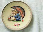 1982 Goebel Hummel W. Germany Annual Plate 1982 no box euc