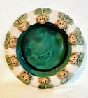 Majolica Planter 10 Seated Frogs In Excellent Condition Contains No Cracks Chips
