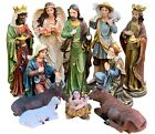 Nativity Set JesusMary Joseph ShepherdGuardian Angel Kings  Animal 24Tall