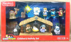 CHILDRENS NATIVITY SET fisher price little people NEW Christma manger scene