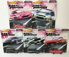 Hot Wheels 164 Fast  Furious 2020 Quick Shifters Set of 5 Diecast GBW75 956J
