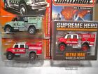 Matchbox Intl WorkStar Brush Fire Truck National Parks Supreme Hero Lot of 3