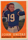 Johnny Unitas Cards, Rookie Card and Autographed Memorabilia Guide 17