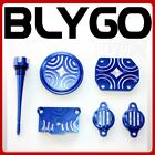 BLUE CNC ENGINE DRESSING DRESS UP KIT 125cc 140cc 150cc PIT PRO Trail Dirt Bike
