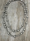 4 5 and 10mm Navajo Pearls Necklace Choose Length Great Design