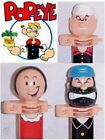 POPEYE KLIK SET OF 3 - W/ OLIVE OYL & BRUTUS - MINT ON CARDS - 2004 - RETIRED