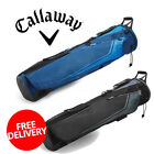 Callaway Golf Double Strap Carry Pencil Bag with 3 Way Divided Top 2020