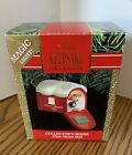 Hallmark Collector Series Chris Mouse Mail With Magic Light 1991 Ornament