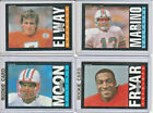 1985 Topps Football Complete Set 1-396