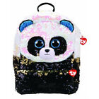 TY Bamboo Panda Square Back Pack - Sequin - Brand New & Sealed