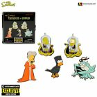 The Simpsons Treehouse of Horror Exclusive NYCC Pin Set Limited Halloween Editio