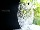 Waterford Crystal Master Craft Collection Flora  Fauna Sunflower Vase New Rare