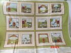 HENRY GLASSDO YOU SEE WHAT i SEE Nativity Christmas Fabric Book 12 pagePanel